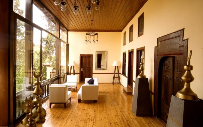 Gang van Hotel Alp Pasa in Antalya