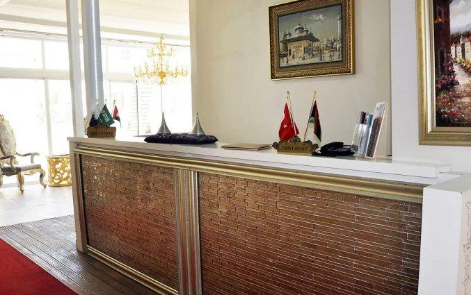 Receptie van Hotel Elegance East in Antalya
