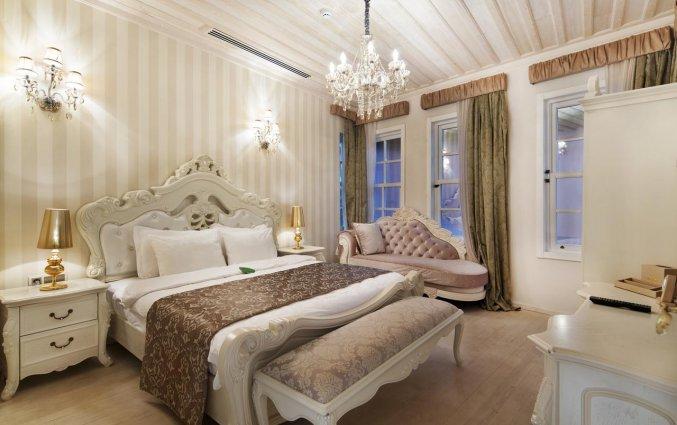Slaapkamer van Hotel Elegance East in Antalya
