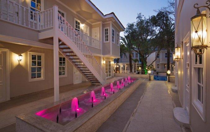Tuin van Hotel Elegance East in Antalya
