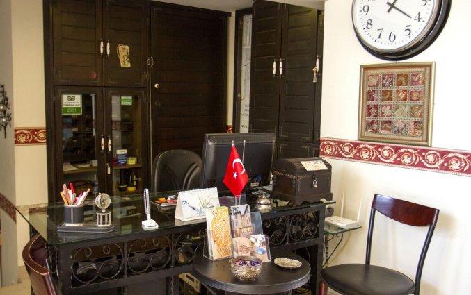 Receptie van Hotel Deja Vu Otel Kaleici in Antalya