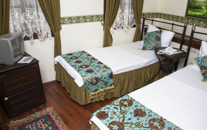 Slaapkamer van Hotel Deja Vu Otel Kaleici in Antalya