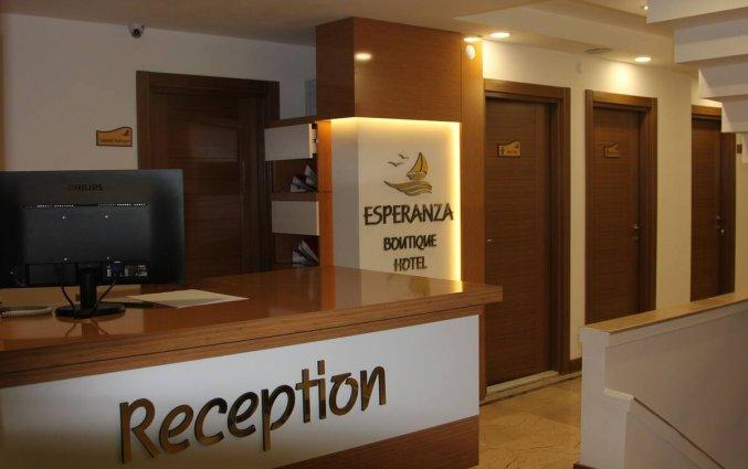 Entree van Hotel Esperanza Boutique in Antalya