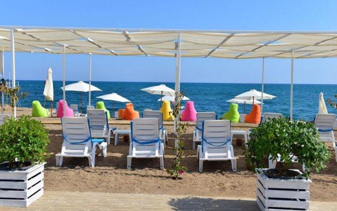 Eigen strand van Hotel Esperanza Boutique in Antalya