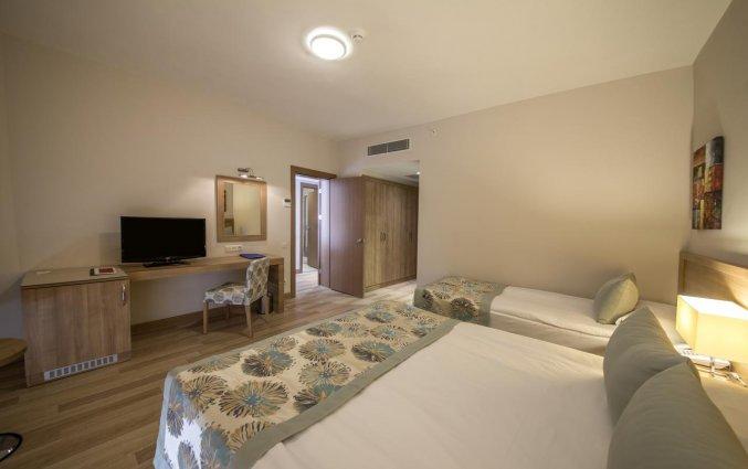 Slaapkamer van Hotel Lara Family Club in Antalya