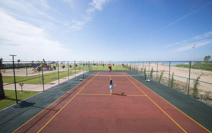 Tennisbaan van Hotel Lara Family Club in Antalya