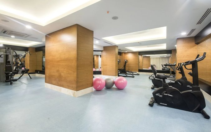 Fitnesscentrum van Hotel Lara Family Club in Antalya