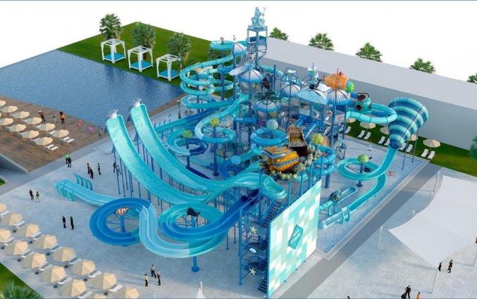 Waterpark van Hotel Nirvana Cosmopolitan in Antalya