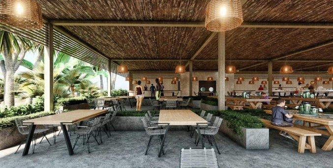 Terras van Hotel Nirvana Cosmopolitan in Antalya
