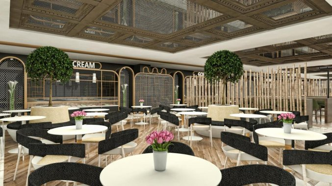 Restaurant van Hotel Nirvana Cosmopolitan in Antalya