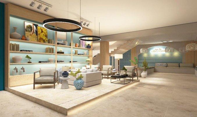 Zithoek van Hotel Nirvana Cosmopolitan in Antalya
