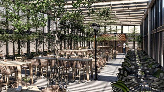 Cafe van Hotel Nirvana Cosmopolitan in Antalya