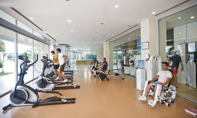 Fitnessruimte van Hotel Amara Centro in Antalya