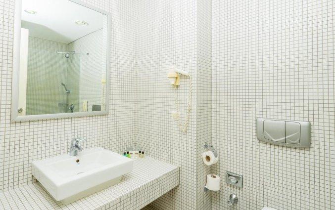 Badkamer van een tweepersoonskamer van Hotel Amara Centro in Antalya