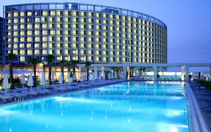 Buitenzwembad van Hotel Amara Centro in Antalya
