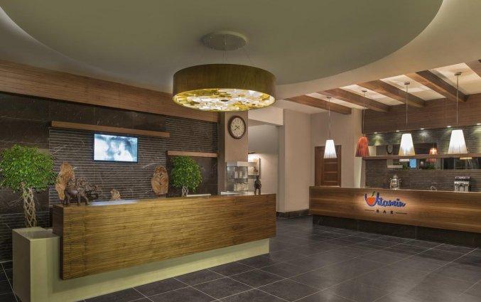 Receptie van Resort en Spa Aska Lara in Antalya