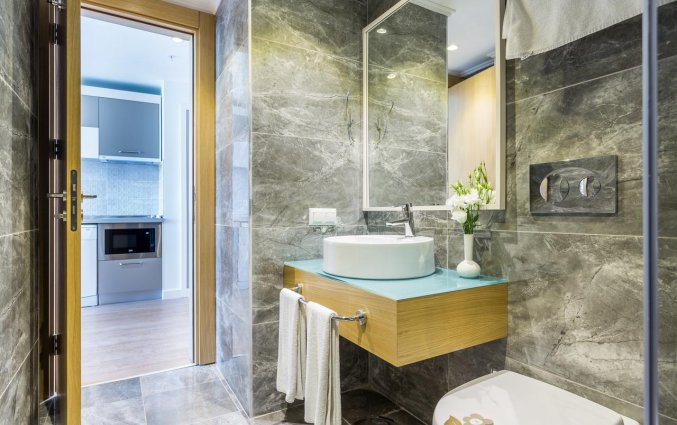Badkamer van Resort en Spa Aska Lara in Antalya