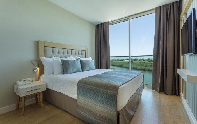 Tweepersoonskamer van Resort en Spa Aska Lara in Antalya