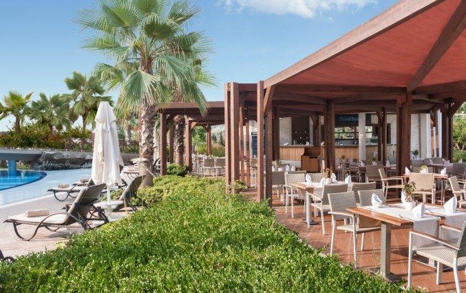 Terras van Resort en Spa Aska Lara in Antalya