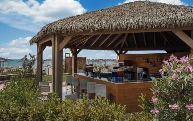 Strand met beachbar van Resort en Spa Aska Lara in Antalya