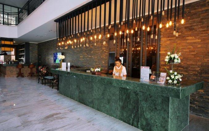 Receptie van Hotel& Spa Sey Beach in Alanya