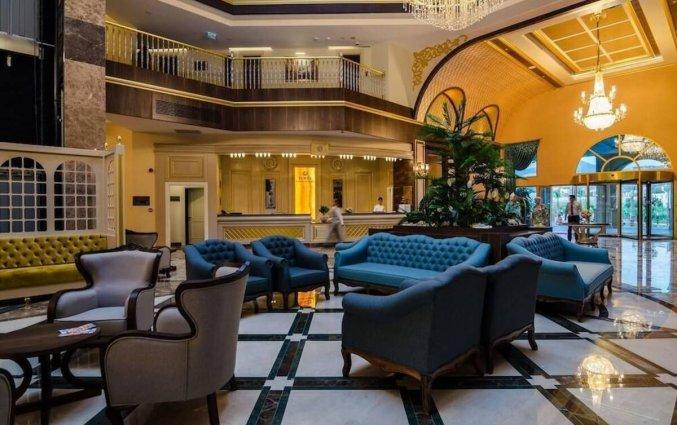 Lobby van Resort The Lumos Deluxe & Spa in Alanya