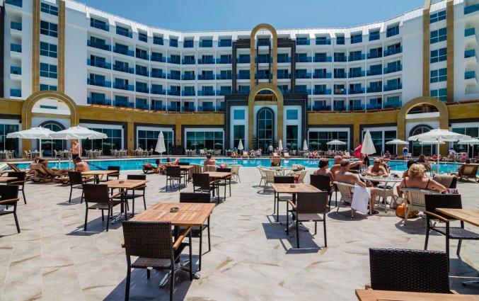 Terras van Resort The Lumos Deluxe & Spa in Alanya