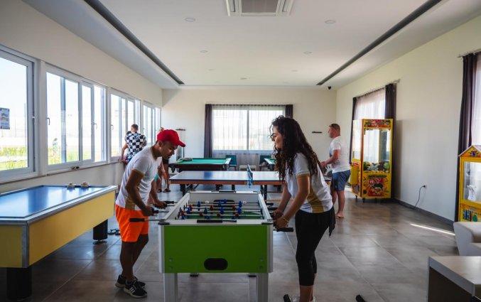 Spellenkamer van Resort The Lumos Deluxe & Spa in Alanya