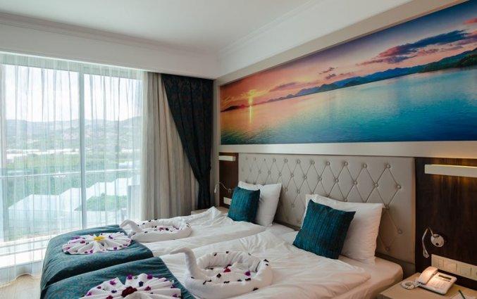 Slaapkamer van Resort The Lumos Deluxe & Spa in Alanya
