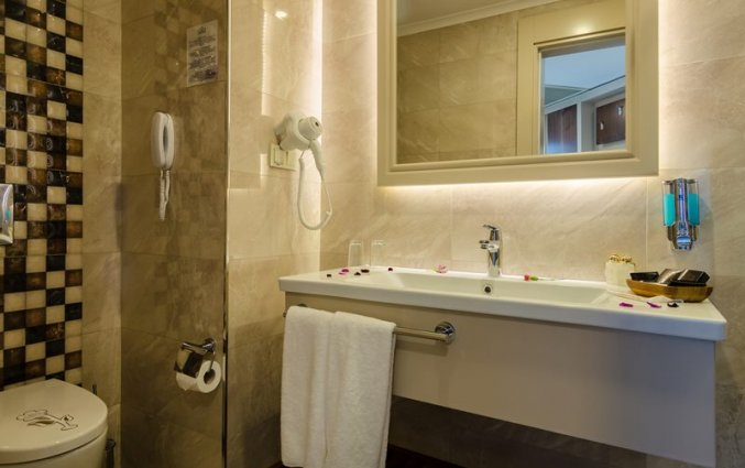 Badkamer van Resort The Lumos Deluxe & Spa in Alanya