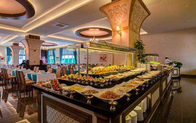 Restaurant van Resort The Lumos Deluxe & Spa in Alanya