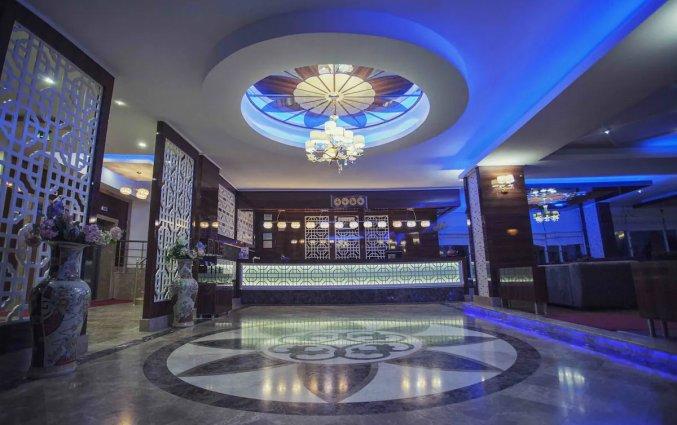 Lobby van Hotel Drita in Alanya