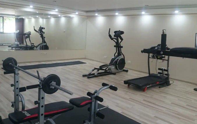 Fitnessruimte van Hotel Drita in Alanya