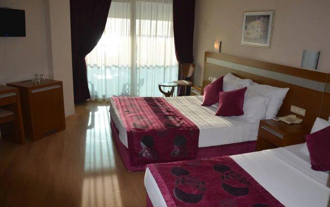 Slaapkamer van Hotel Drita in Alanya