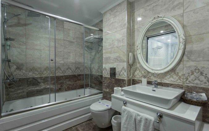 Badkamer van Hotel Drita in Alanya