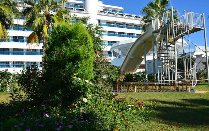 Tuin van Hotel Drita in Alanya