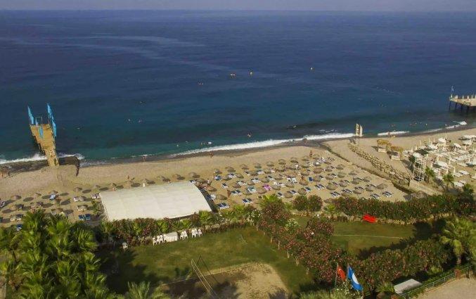 Strand van Hotel Drita in Alanya