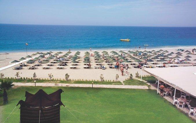 Strand van Hotel Club Titan in Alanya