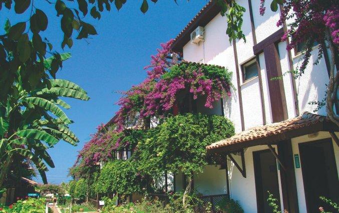 Tuin van Hotel Club Titan in Alanya