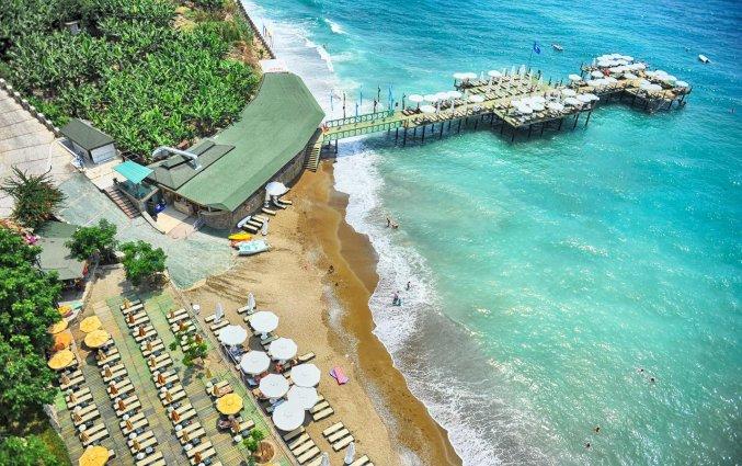Strand van Hotel Utopia World in Alanya