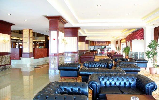 Lobby van Hotel Utopia World in Alanya