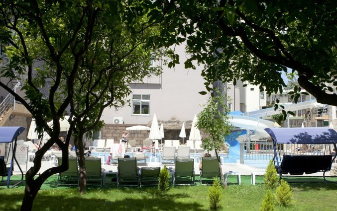 Tuin van Hotel Monart City in Alanya