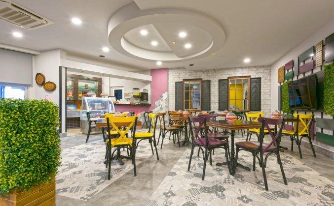 Restaurant van Hotel Monart City in Alanya