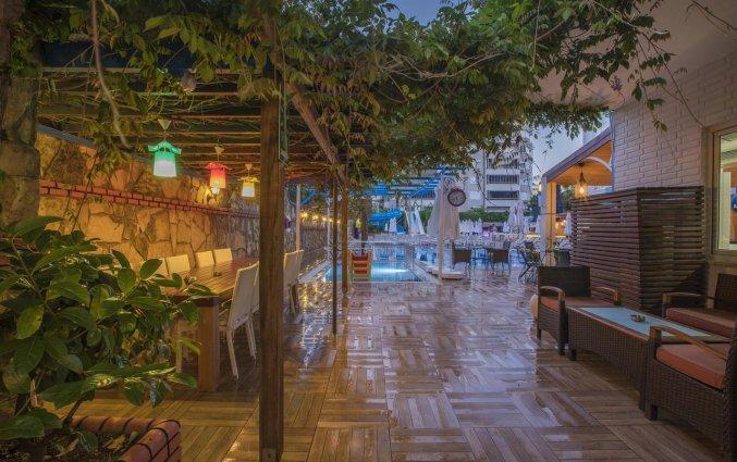 Tuin van Hotel Club Big Blue Suite in Alanya
