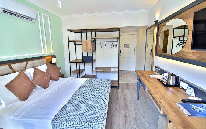 Tweepersoonskamer van Hotel Club Big Blue Suite in Alanya