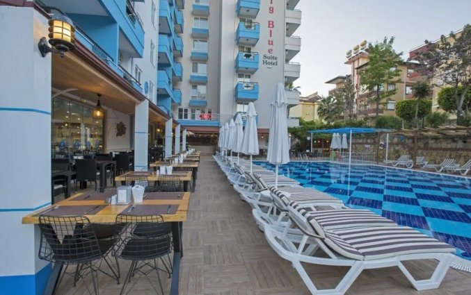 Restaurant van Hotel Club Big Blue Suite in Alanya