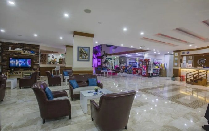 Lobby van Hotel Club Big Blue Suite in Alanya