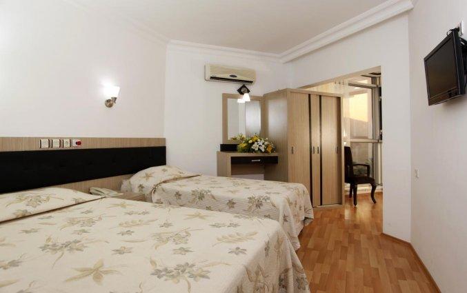 Slaapkamer van Hotel Monte Carlo in Alanya
