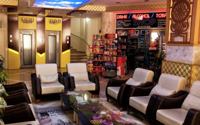 Lobby van Hotel Monte Carlo in Alanya