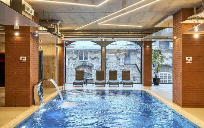 Zwembad van Hotel Metropol Tallinn